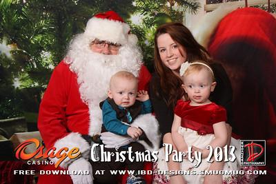 Osage Bartlesville Staff Christmas 2013