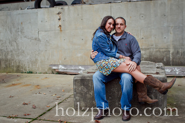 Crystal and Andrew Color Engagement Photos