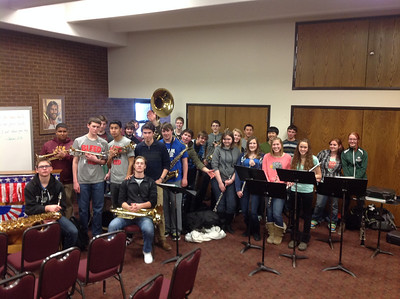 Pep Band Visits KoG