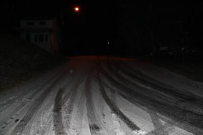 Frozen Road, Hill, Market Street, Tamaqua (12-29-2011)