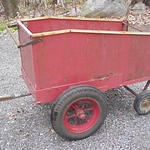 ROCK ISLAND ARSENAL 81MM MORTAR HAND CART