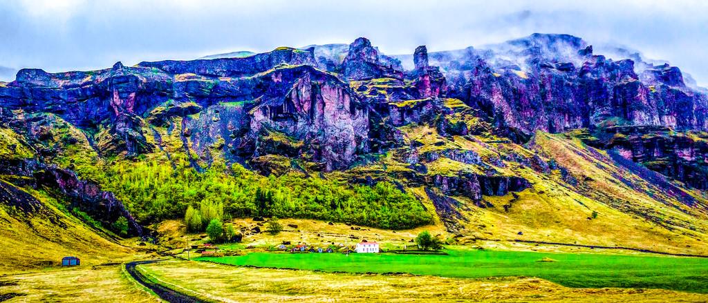 冰岛风采,远山近景