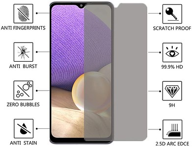 Screen Tempered Glass PRIVACY