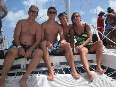 Grand Turk Port - Catamaran Sailaway, Beach & Snorkel - Day 4