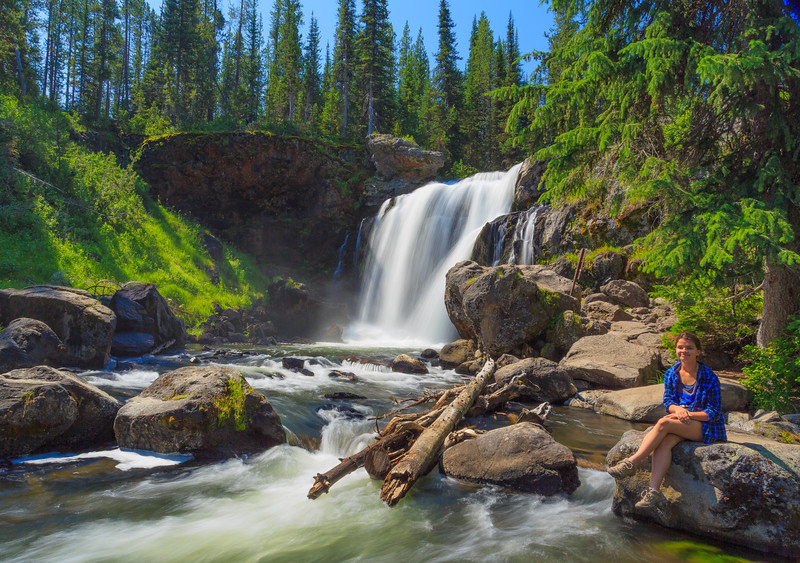 Little Maiden at Moose Falls
