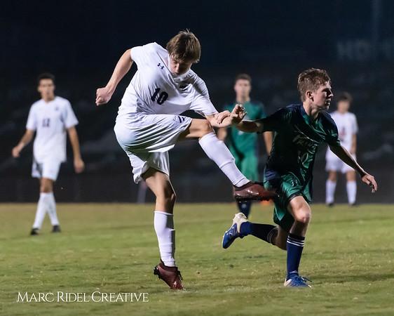 Broughton soccer vs Leesville. October 15, 2018.