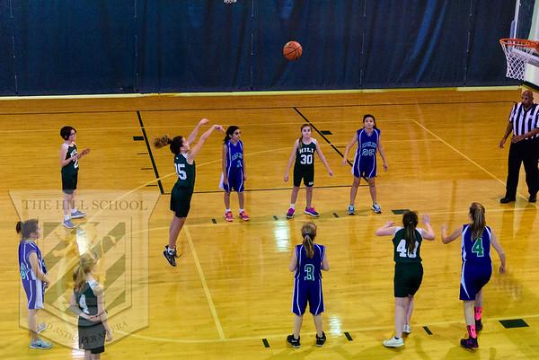 Basketball 6th Grade Girls vs LCDS
