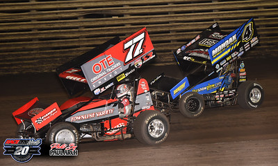 Knoxville 360 Nationals - Knoxville Raceway - 8/7/20 - Paul Arch