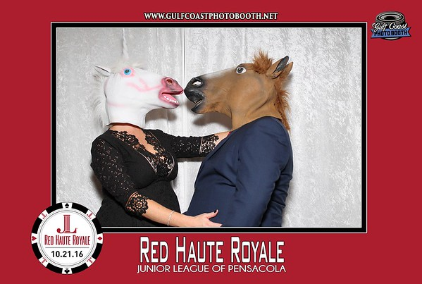 Junior League Pensacola Red Haute Royale Photo Booth 2016