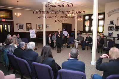 Plymouth 400 Cultural Exchange Session  3/14/15