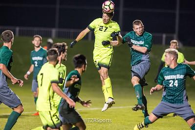 OU Men's Soccer vs. UW Green Bay 11/7/2016