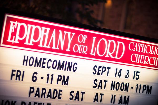 Epiphany Homecoming 2012