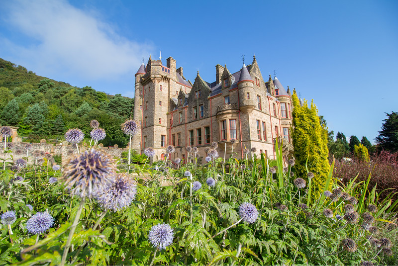 Belfast Castle in Ireland