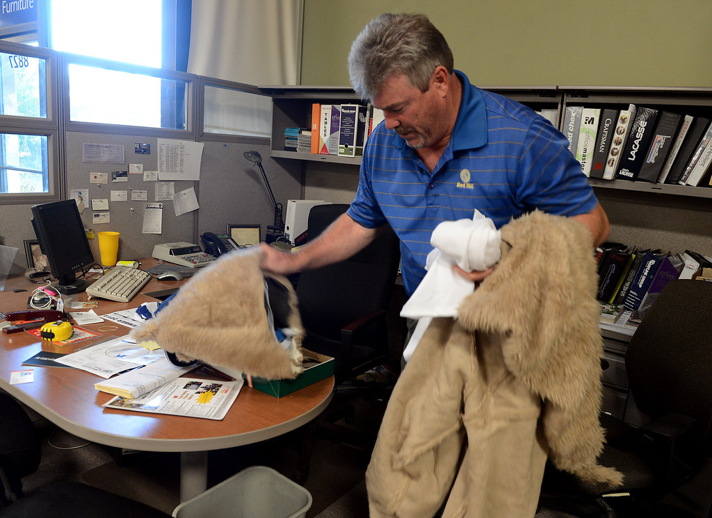 . Mark Monninger at his business Hoopers Office Furniture in Rancho Cucamonga, CA Tuesday, October 15, 2013. (Jennifer Cappuccio Maher/Inland Valley Daily Bulletin)