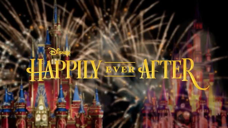 Take a look behind the scenes of HAPPILY EVER AFTER fireworks coming to WDW