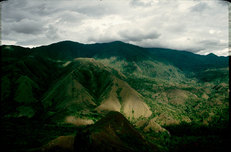 isolated interior of Sulawesi