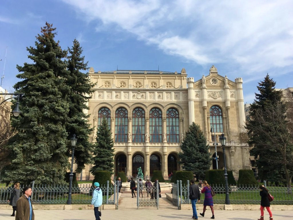Vigadó Concert Hall - 48 hours in Budapest