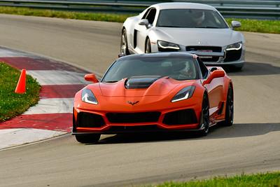 2019 SCCA TNiA Sept Pitt Race Orange Vette