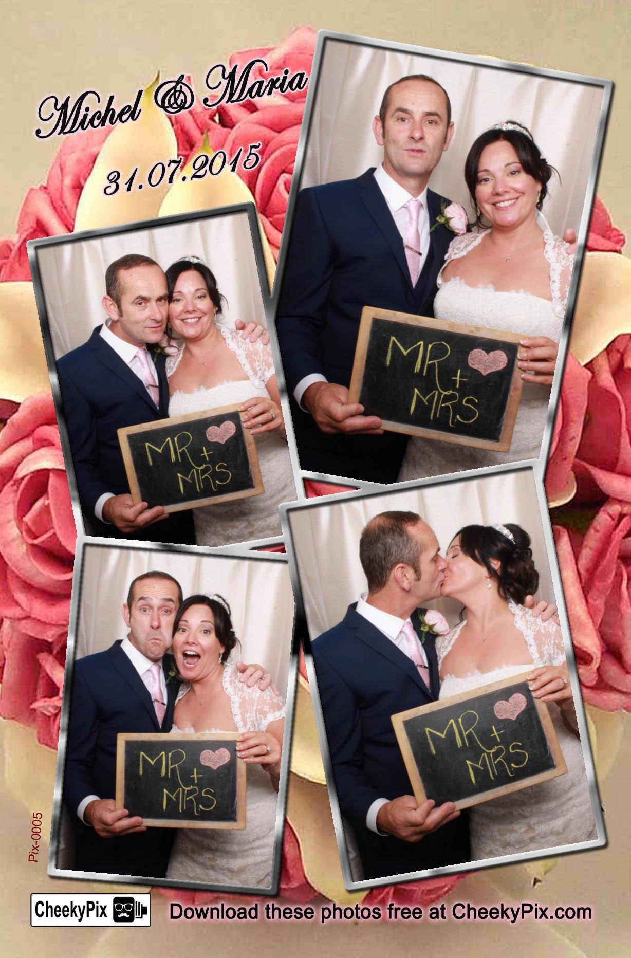 Wedding photobooth hire