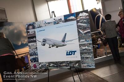 LOT Dreamliner Delivery Flight
