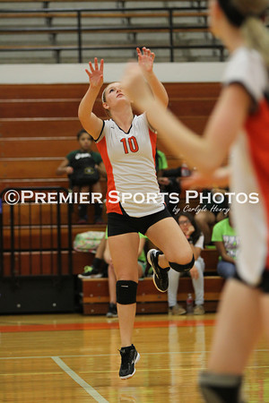 La Porte JV Volleyball vs Klein Forest 8/27/2013