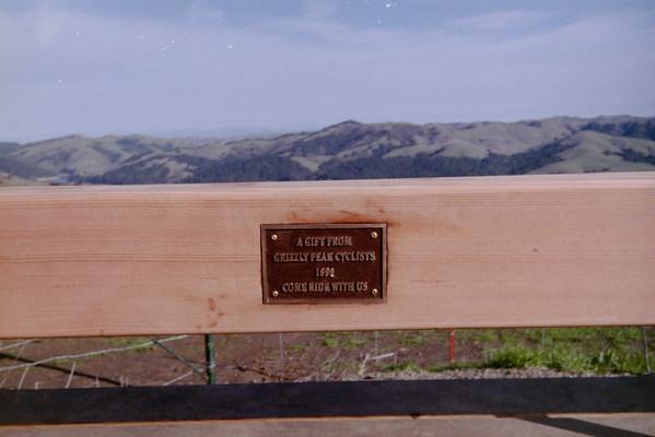 GPC Bench--Inspiration Point