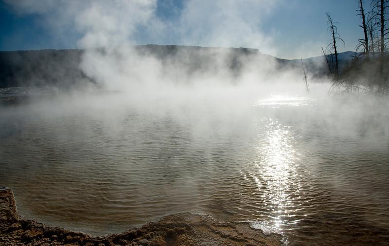 Mammoth Springs - Yellowstone National Park, Wyoming