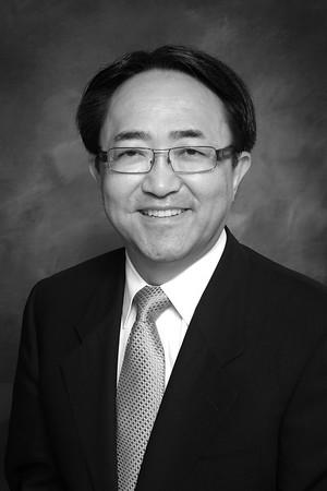 President Morishita's Black and white