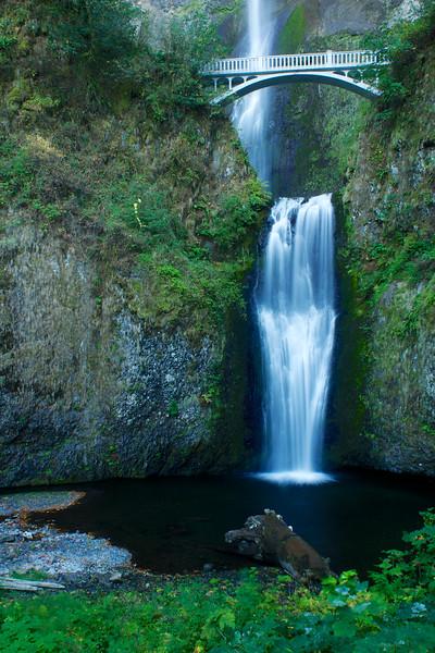 Horsetail Falls & Multnomah falls