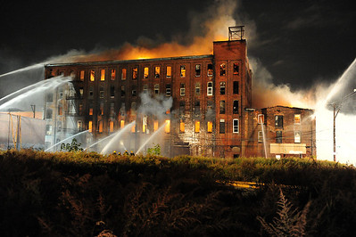 Five Alarm Five Story Factory/Warehouse Fire