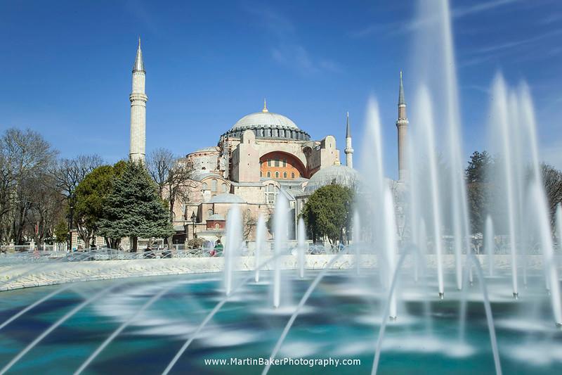 Aya Sofya, Istanbul, Turkey.
