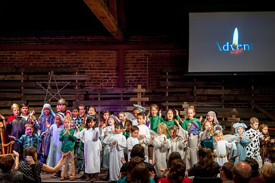 Childrens Christmas Play 12-15-2013 10:30 Service