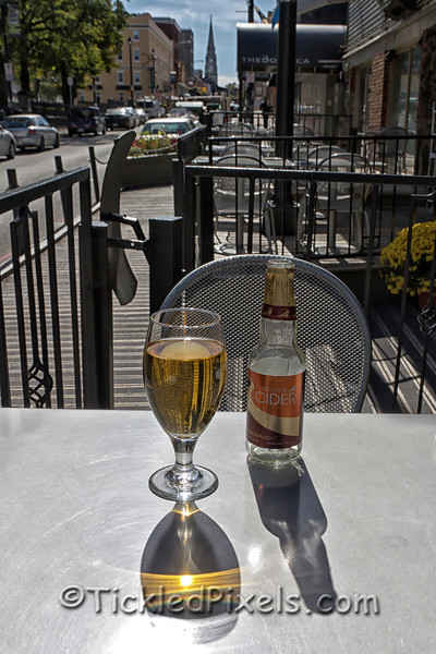 Tideview Cider at the Five Fisherman, Halifax