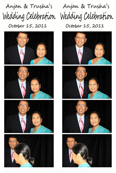 Anjan and Trusha's Photo strips