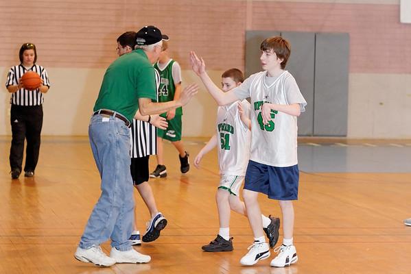 Upward Basketball, February 14, 2009