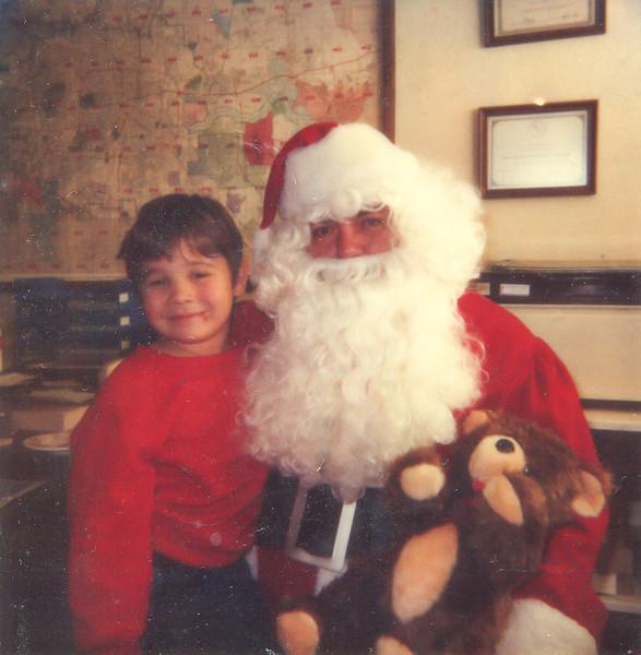 Jacob, Ed Moore and the Teddy Bear Christmas 1985