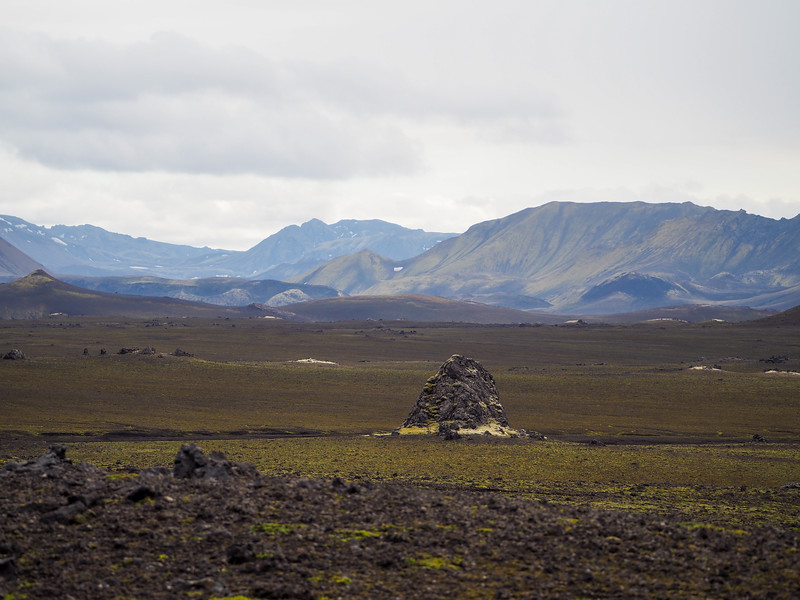 Near Hekla volcano in Iceland