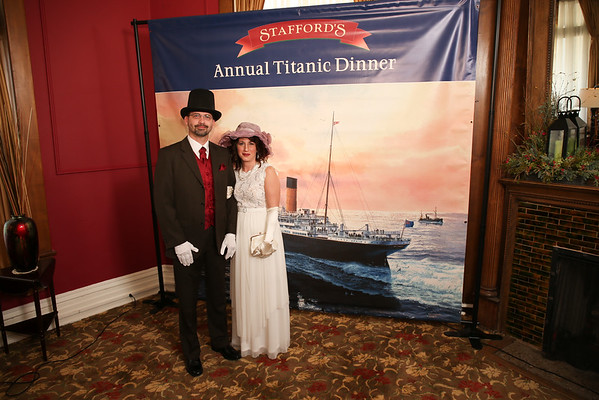 Titanic Dinner Stafford's Perry Hotel Petoskey Michigan