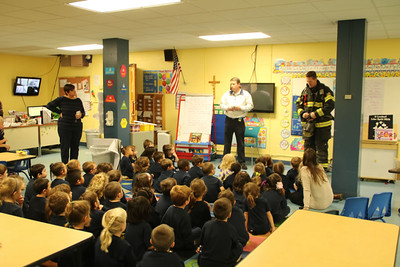 Kindergarten Fire Prevention 2015