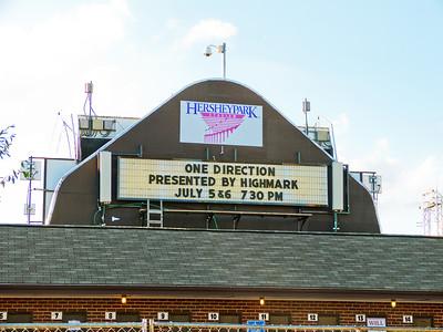 One Direction - Hersheypark Stadium, Hershey PA - July 6, 2013