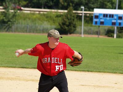 Oradell FD vs Paramus FD Softball