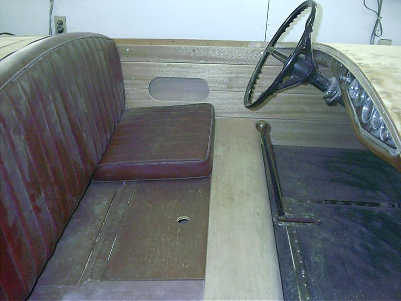 enlarging cockpit