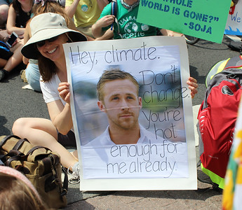Climate March / League of Conservation Voters