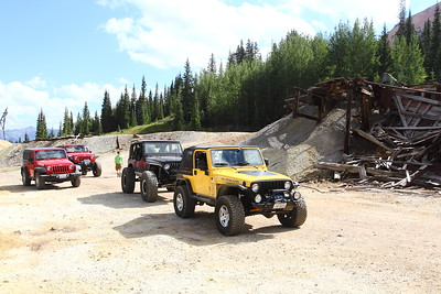 Red Mountain Mining Area
