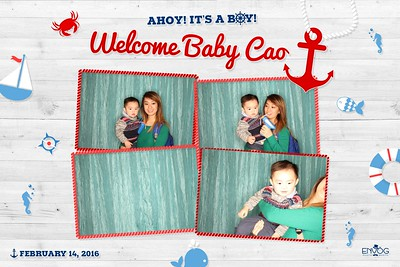 Welcome Baby Cao (prints)