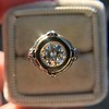 1.02ct Round Brilliant Diamond Bezel Ring 9