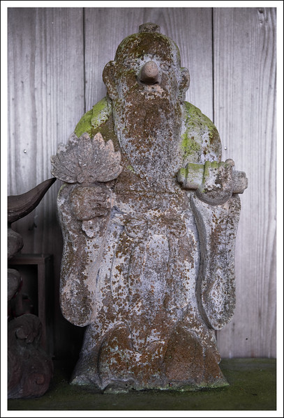 Another Tengu.  This one is made of clay.