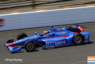 2015 IndyCar - Indy 500 practice