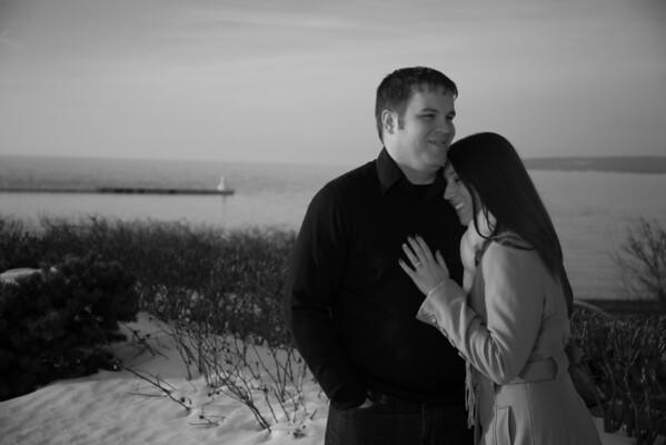 Petoskey Michigan Engagement Photography Ashley + Andrew