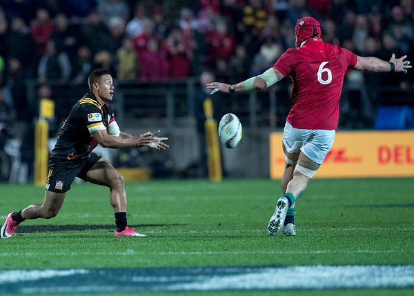 Tim Nanai-Williams during game 6 of the British and Irish Lions 2017 Tour of New Zealand,The match between  The Chiefs and British and Irish Lions, FMG Stadium, Hamilton, Tuesday 20th June 2017 (Photo by Kevin Booth Steve Haag Sports)  Images for social media must have consent from Steve Haag